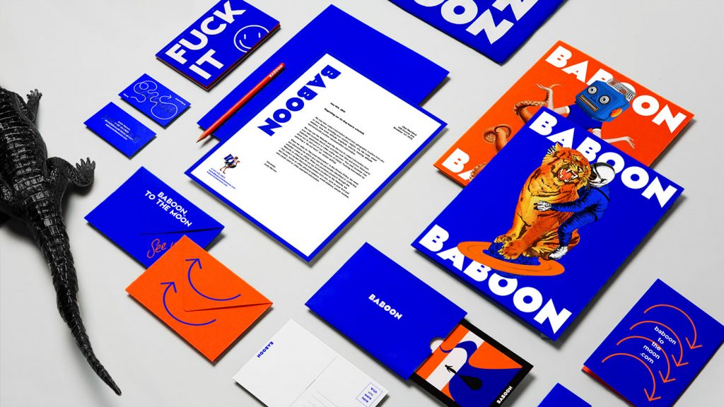 Baboon by &Walsh