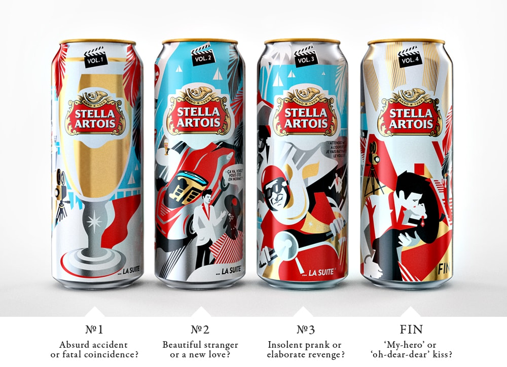 Stella Artois Packaging