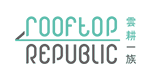 Rooftop Republic Logo, client of Stan Diers Graphic Design