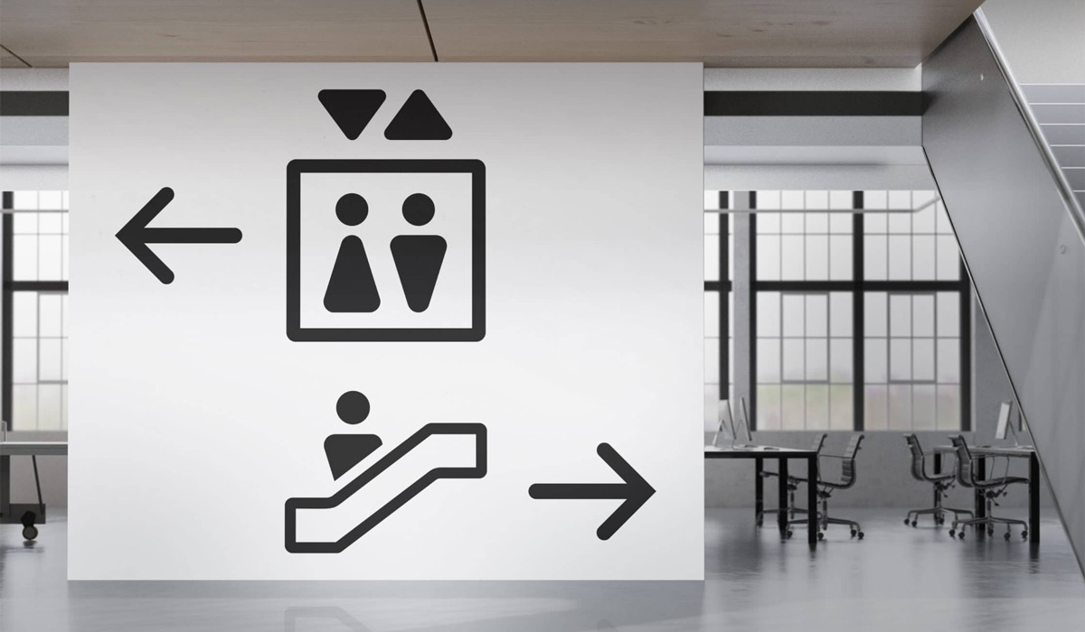 Icons for way finding
